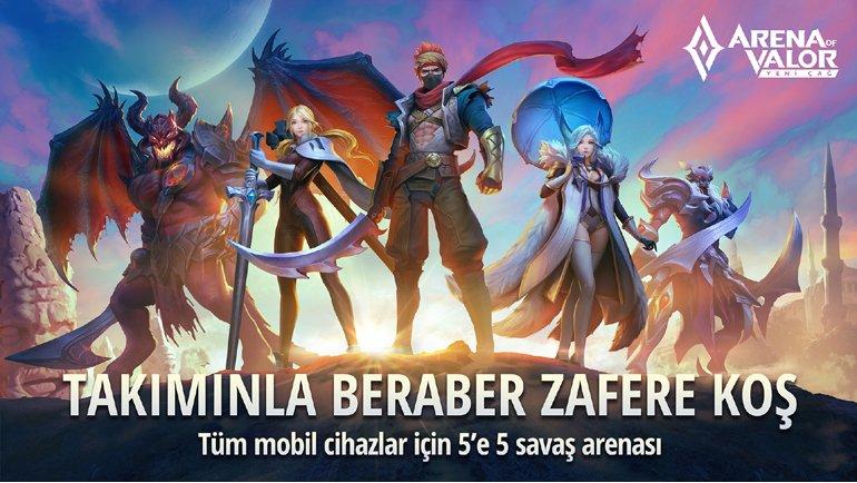 Arena of Valor: Yeni Çağ geldi!