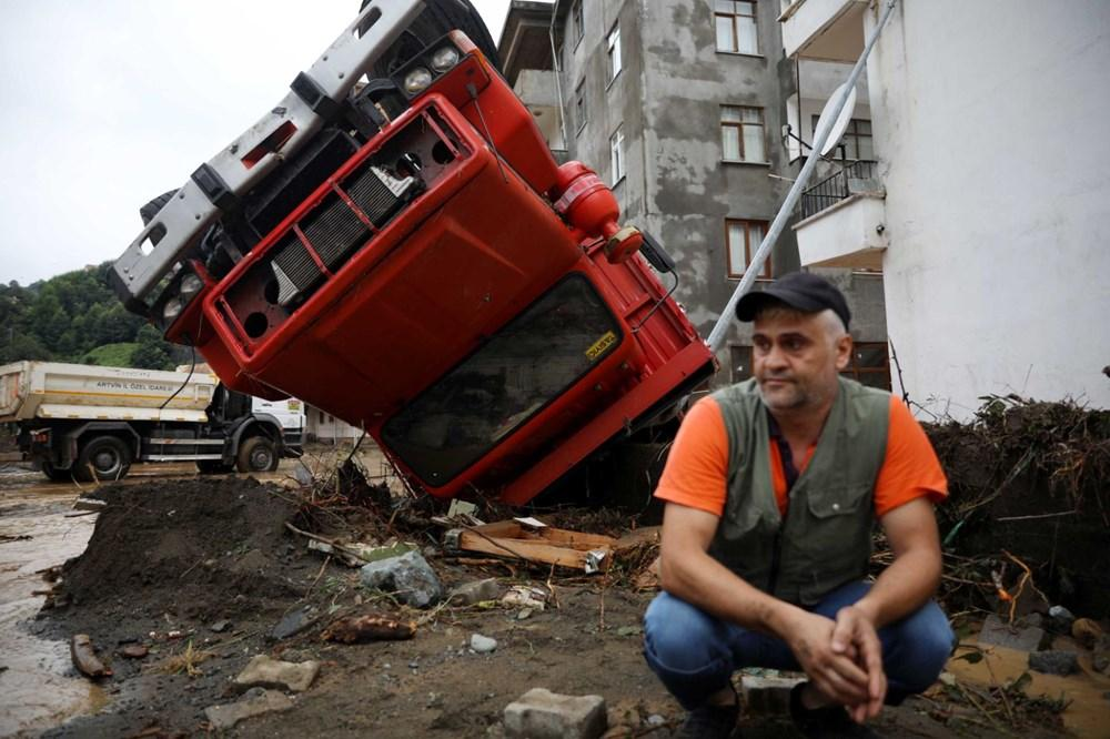 Artvin'de Felaketin Ardından: Sel Gitti, Çamur Kaldı