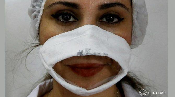 Avcılar Belediyesi'nin işitme engelli maskesi dünya basınında