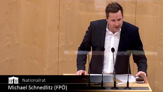 Avusturya Ulusal Konseyi Üyesi Michael Schnedlitz, Kolaya Kovid Testi Yaptı Sonuç Pozitif Çıktı: 'Bu Güvenilmez Testler İçin 67 Milyon Euro Harcandı'