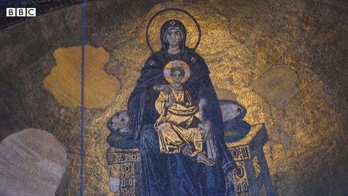 Ayasofya'da Hangi Mozaikler Kapatılacak?