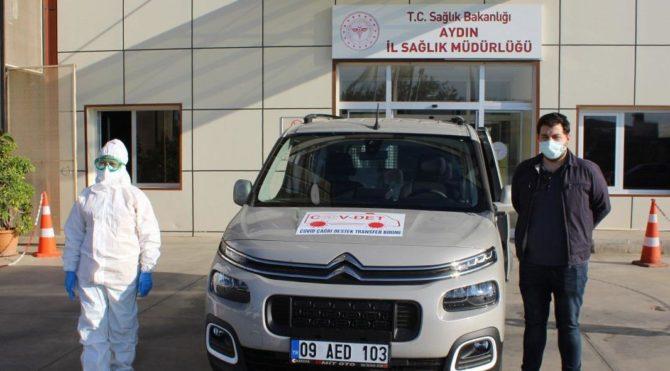 Aydın'da 'Covid Çağrı Destek ve Transfer Birimi' kuruldu