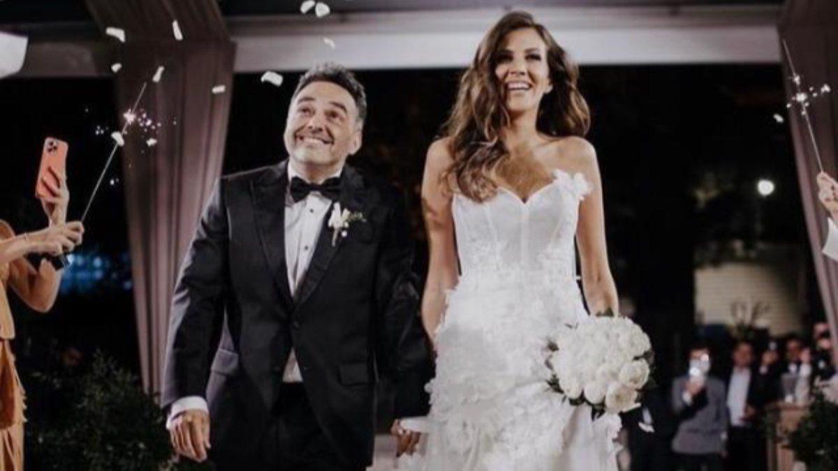 Az kalsın yanıyordu! Melodi Elbirliler ve Arda Türkmen'in düğününde faciadan dönüldü