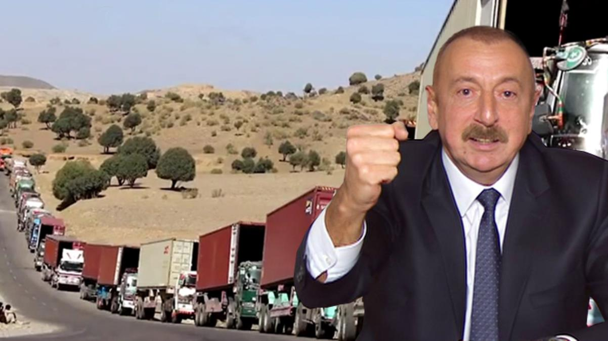 Azerbaycan - İran arasındaki kriz büyüyor! Sınır kapısında 10 kilometrelik tır kuyruğu oluştu