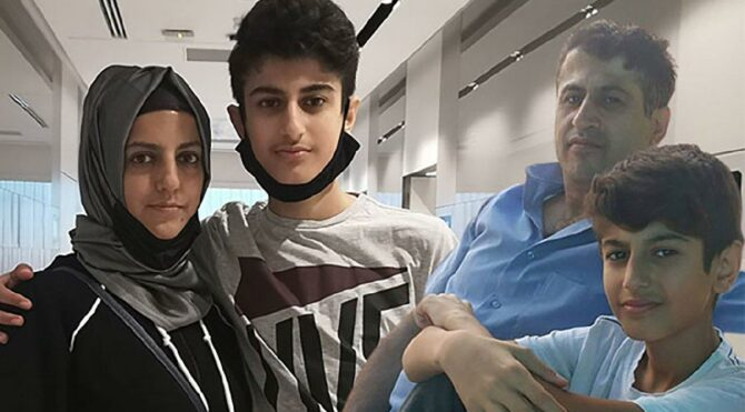 Babası ameliyata günler kala hayatını kaybetti; aynı kaderi paylaşan oğlu yaşama tutundu