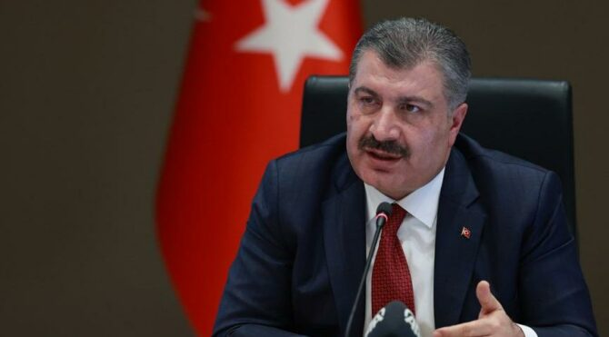 Bakan Fahrettin Koca'dan İstanbul açıklaması: Hasta artışı olduğu görülüyor