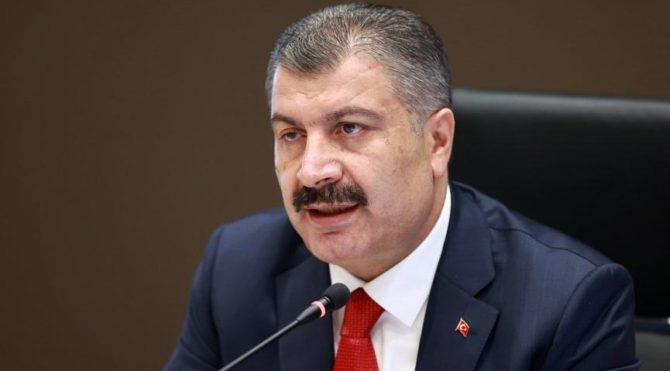 Bakan Koca'dan Mersin, Diyarbakır, Trabzon, Antalya ve Kocaeli açıklaması