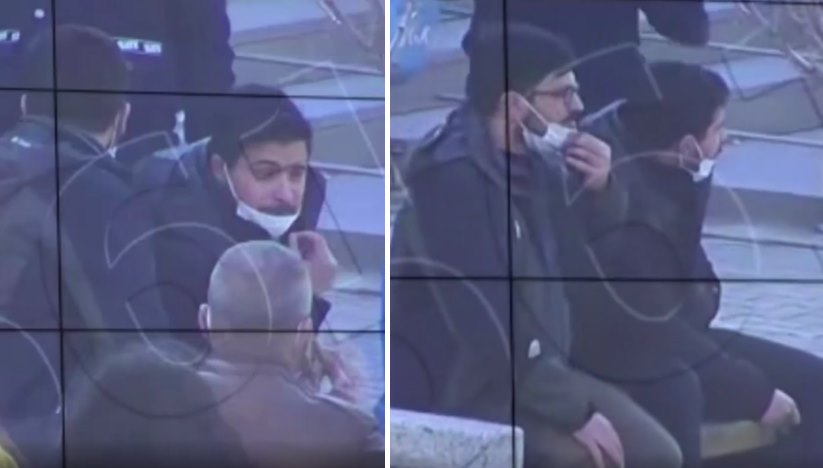 Bankta Oturan Gençleri KYGS ile Tespit Edip 'Sosyal Mesafeye Uymadıkları İçin' Ceza Yazan Polisler