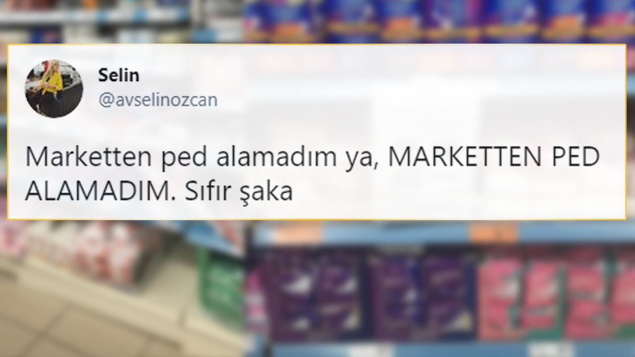 Bazı Marketler Genelge Bahanesiyle Ped Satışına Yasak Getirdi