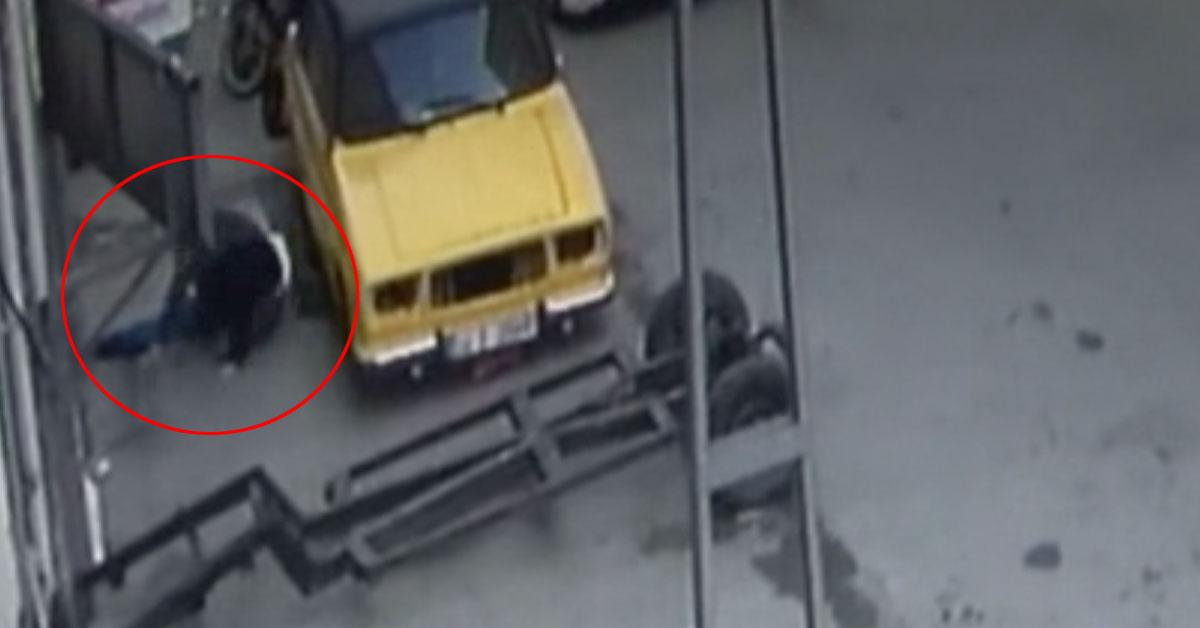 Birlikte Olduğu Kadının Kocası Tarafından Basılarak Yatak Odasına Kilitlenen Adam Camdan Atladı