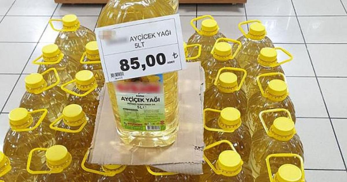 Bitkisel Yağ Sanayicileri Derneği Başkanı: 'Marketlerde Ayçiçek Yağı 75 Lira Değil 59 Lira Bir Kere'