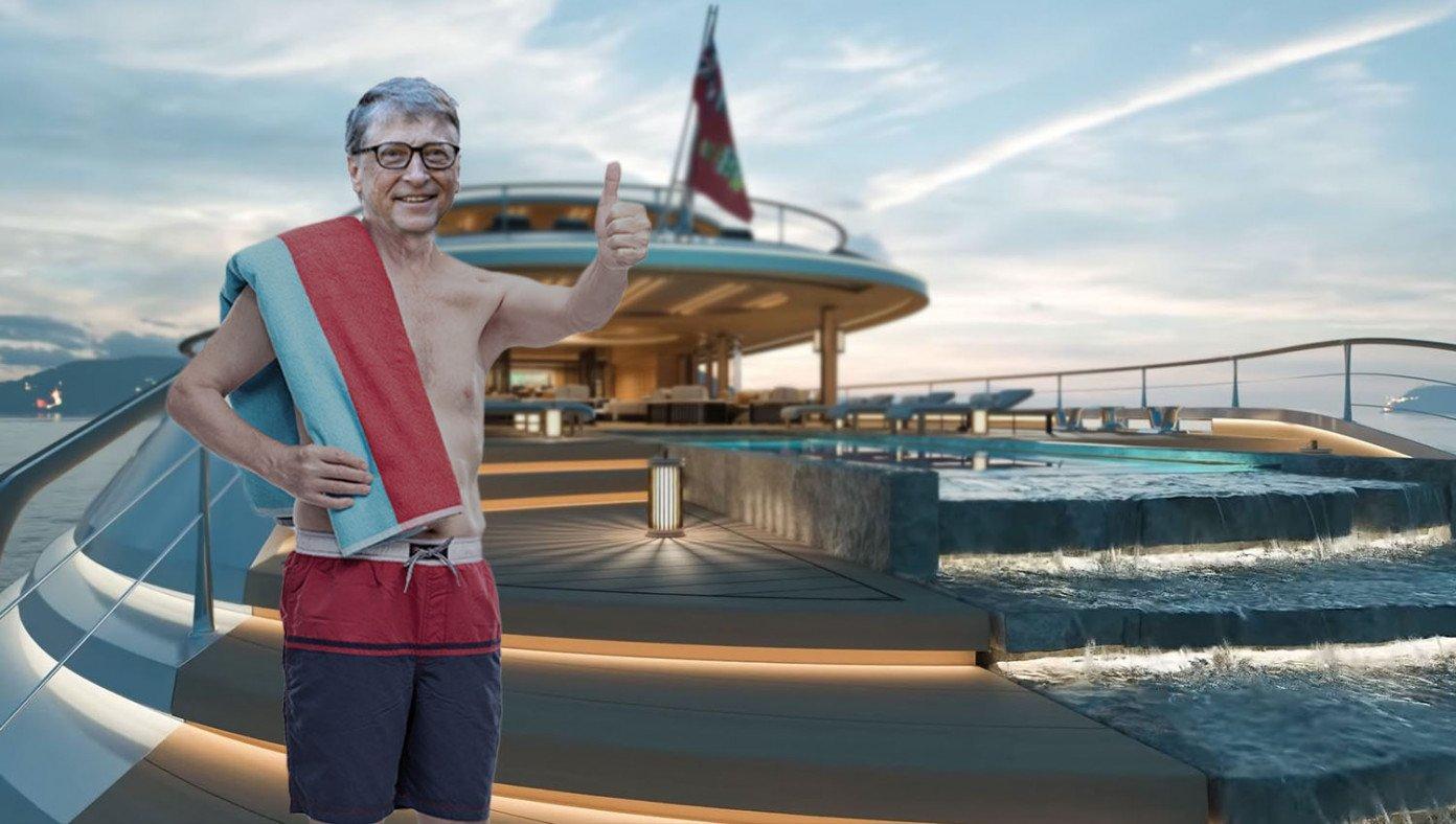 Bodrum'dan Bill Gates Geçti! Akşam Yemeğine 80 Bin Lira Harcadı