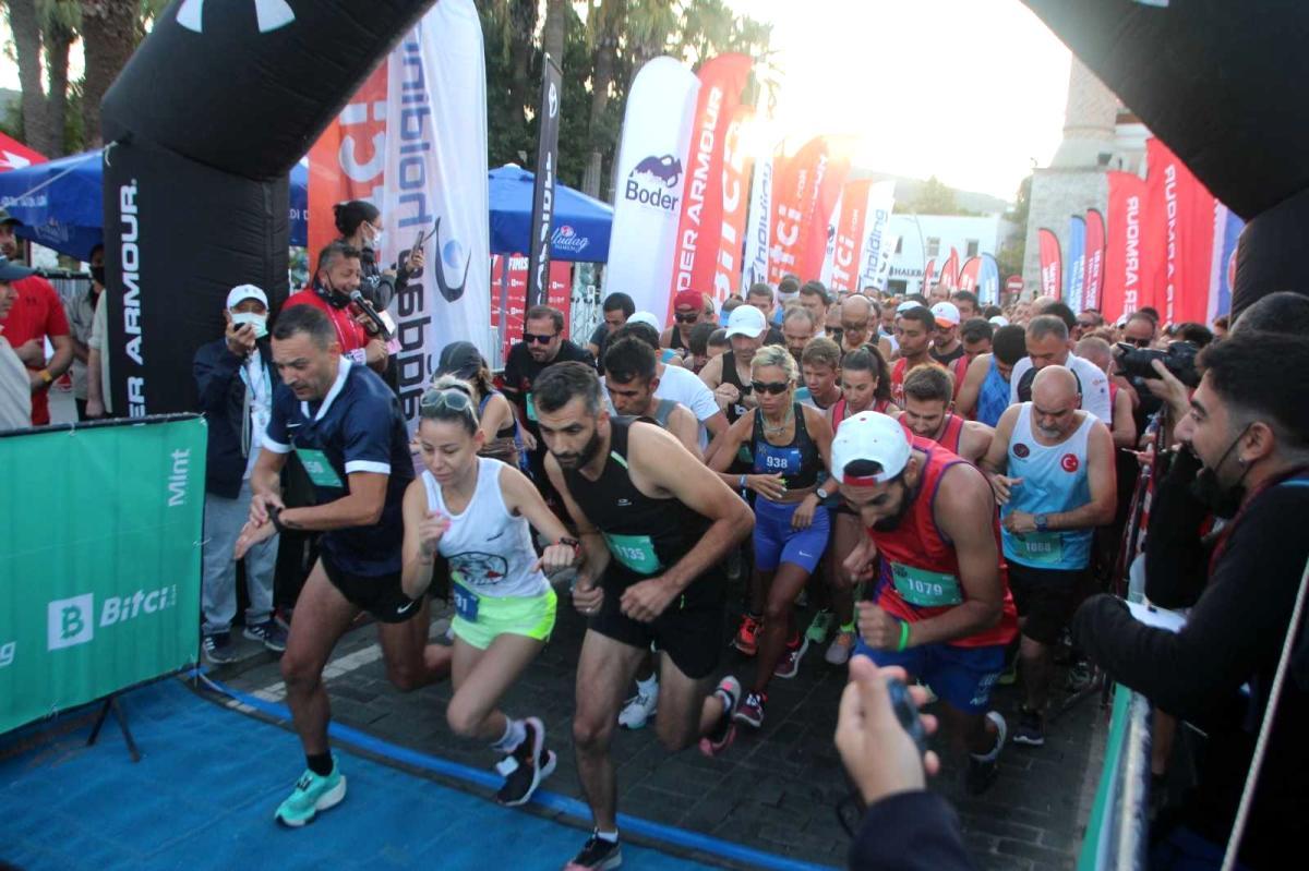 Bodrum Yarı Maratonu koşuldu