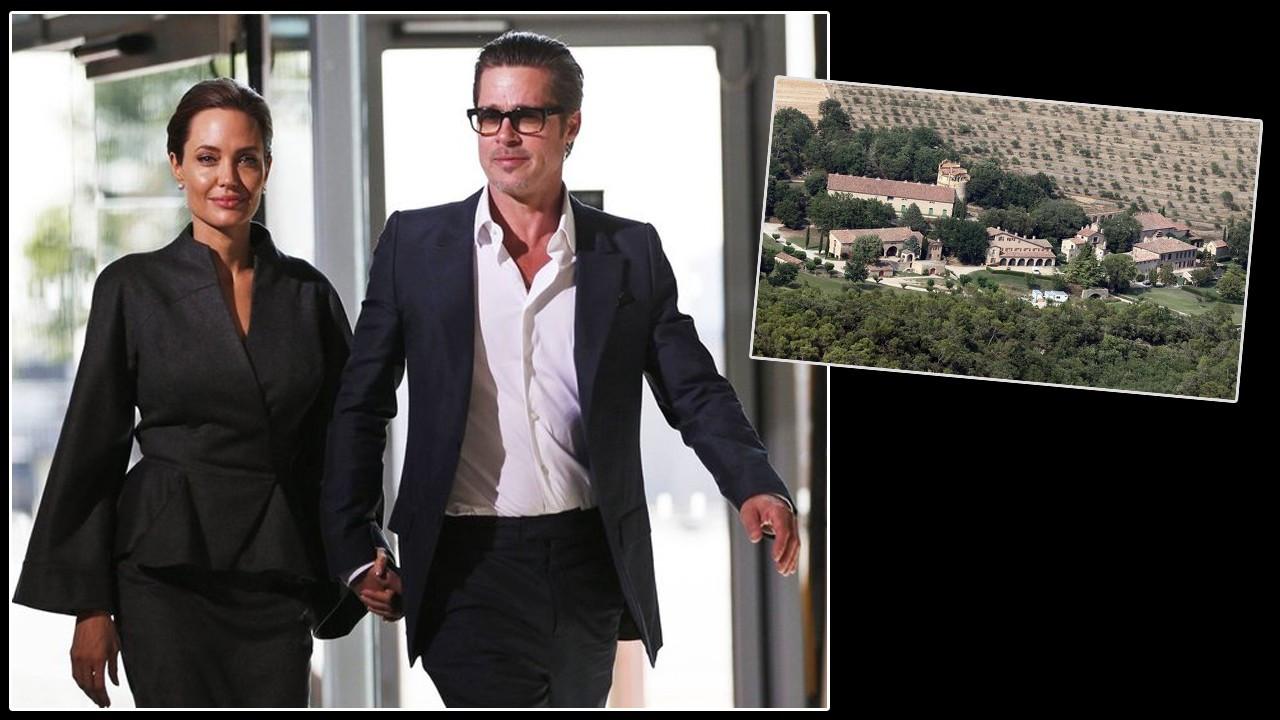 Brad Pitt, Angelina Jolie'ye açtığı 'şato' davasını kaybetti