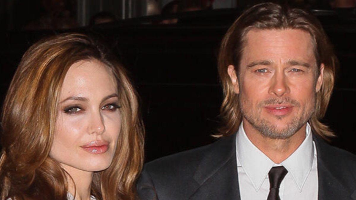 Brad Pitt, Angelina Jolie'ye gitti