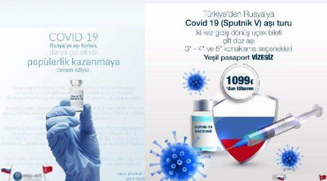 Bu da oldu: Covid-19 aşı turu…