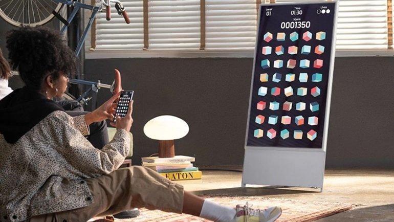 Bu TV, cep telefonlara özel