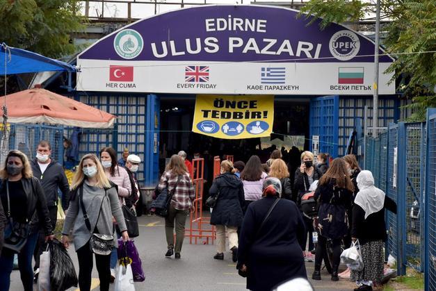 Bulgaristan'dan Edirne'ye 'Günübirlik Alışveriş' Akını: 'Kıyafet, Mutfak Malzemeleri Her Şeyi Buradan Karşılıyoruz.'