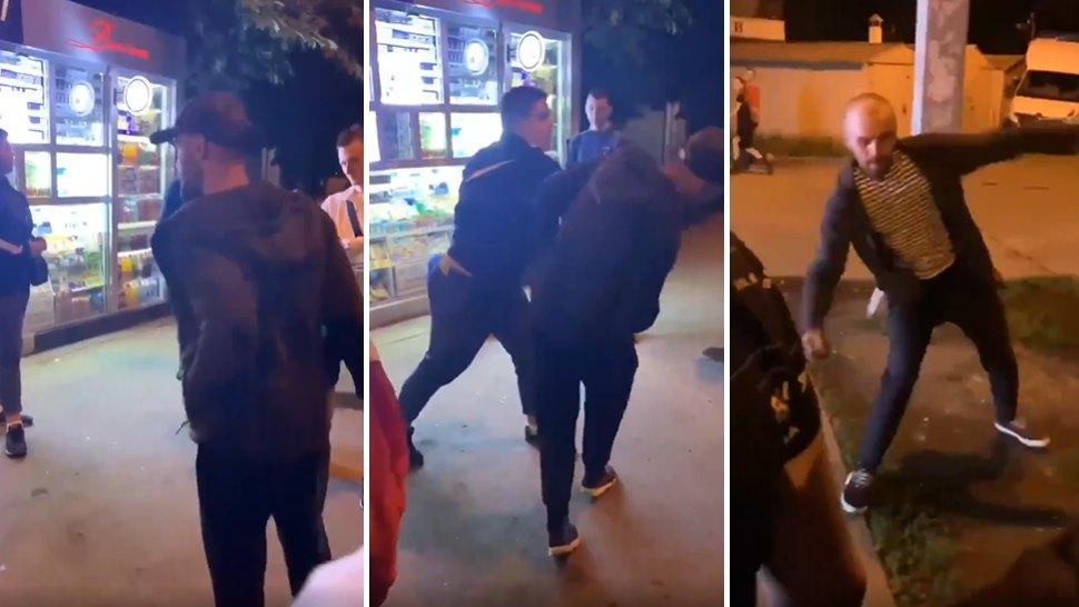 Bunu da Görmedik Demeyiz: Sokak Kavgasında Yumruk Yiyince El Bombası Atan Adam