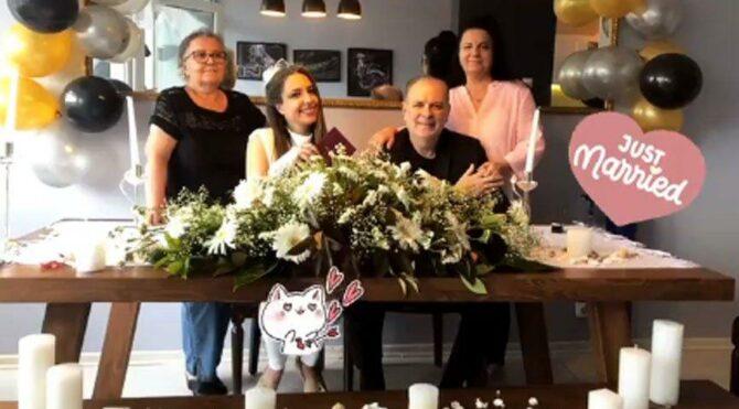 Burak Sergen ile Nihan Ünsal evlendi