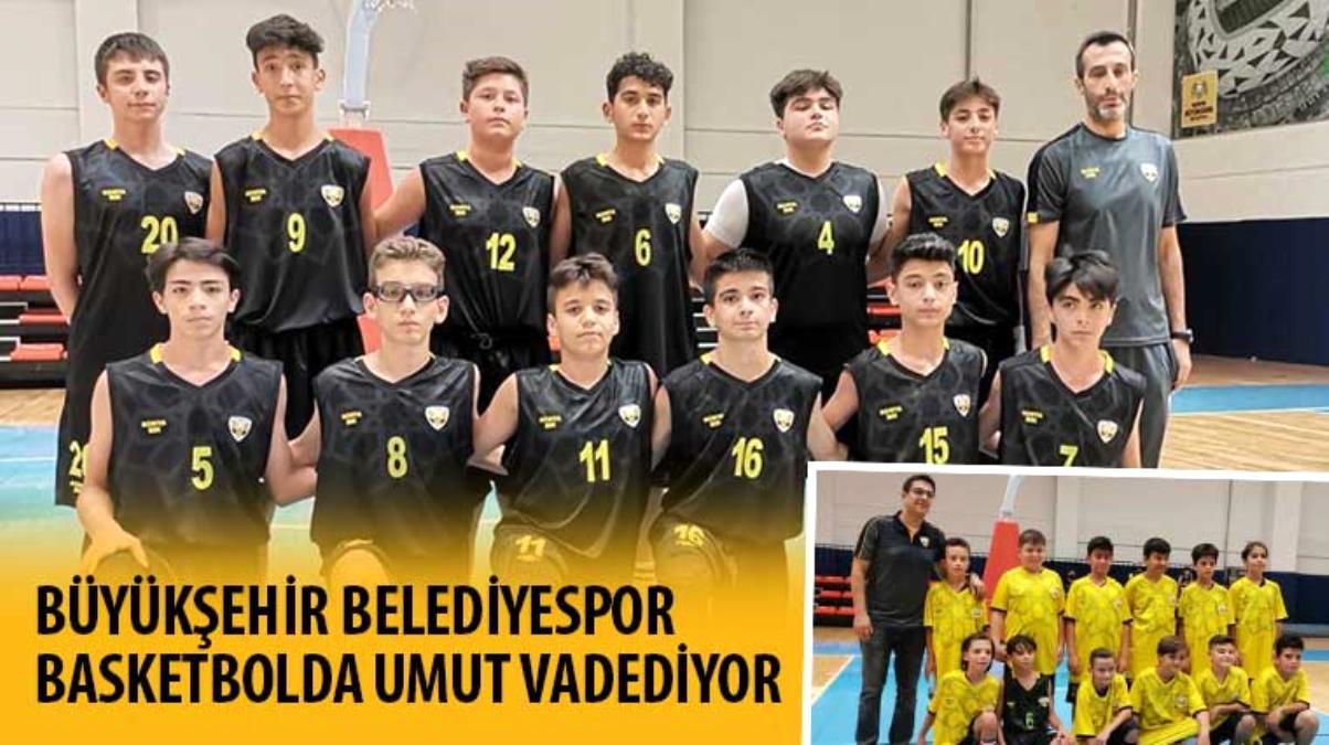 Büyükşehir Belediyespor Basketbolda Umut Vadediyor
