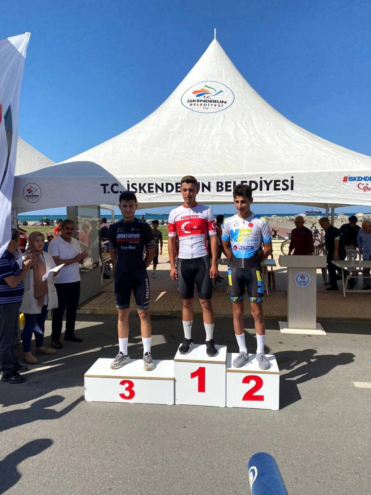 Büyükşehir Bisiklet Takımı'ndan bir başarı daha