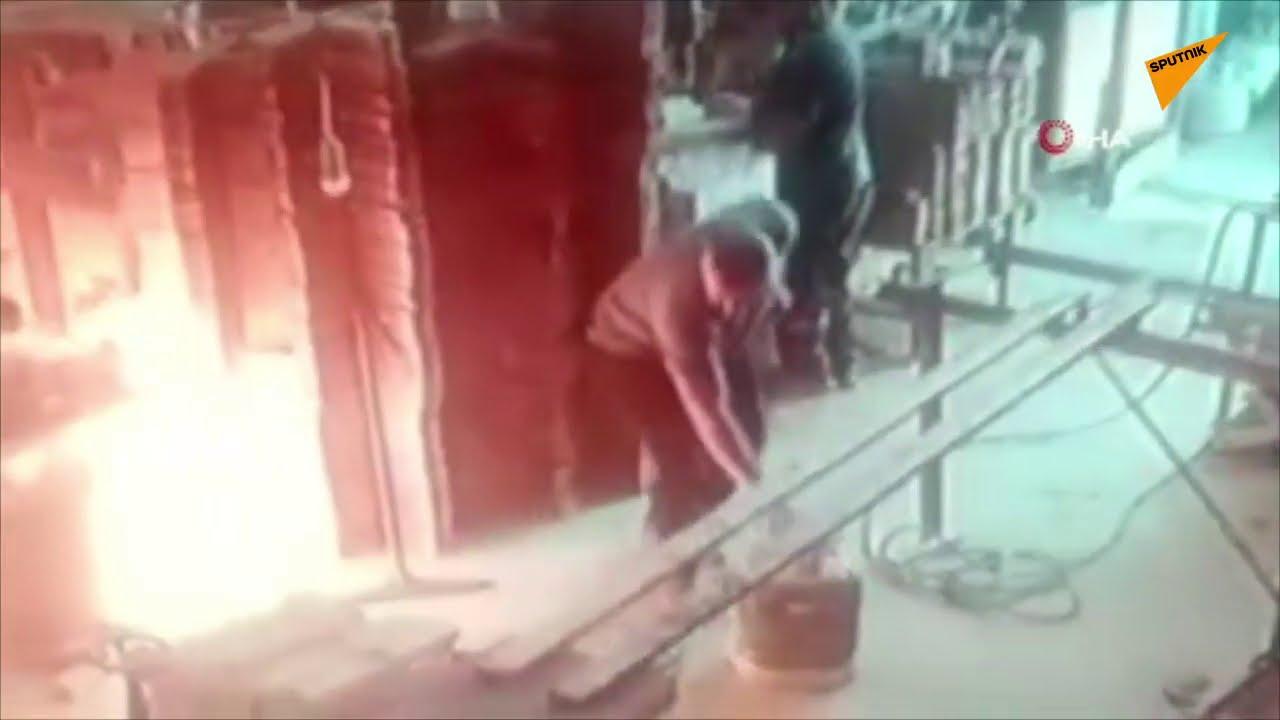 Çakmakla Gaz Kaçağı Kontrol Ederken Yanmaktan Son Anda Kurtulan Yurdum İnsanı