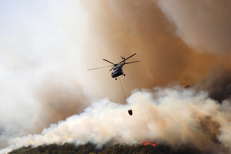 Canlı Anlatım | Yangın Felaketiyle İlgili Yunanistan'dan 'Yardıma Hazırız' Mesajı