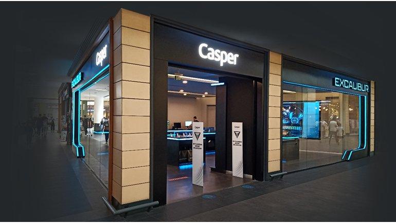Casper Excalibur mağazası açıldı