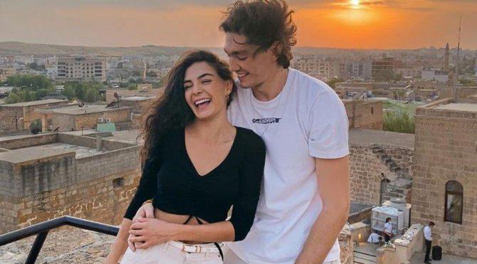 Cedi Osman sevgilisi Ebru Şahin'in hasretine dayanamadı