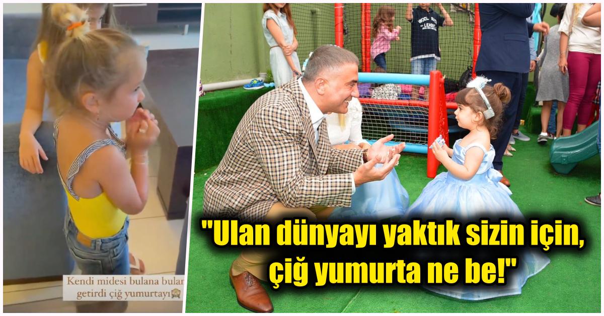 Çektiği Videolarla Gündemden Düşmeyen Sedat Peker Kızı İstedi Diye Çiğ Yumurtayı Kabuklarıyla Yedi!