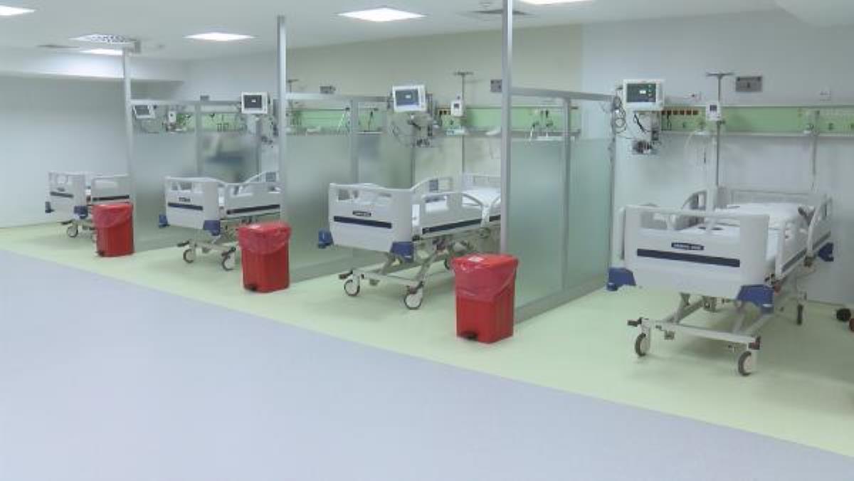 Cerrahpaşa'da yeni yoğun bakım servisleri açıldı,