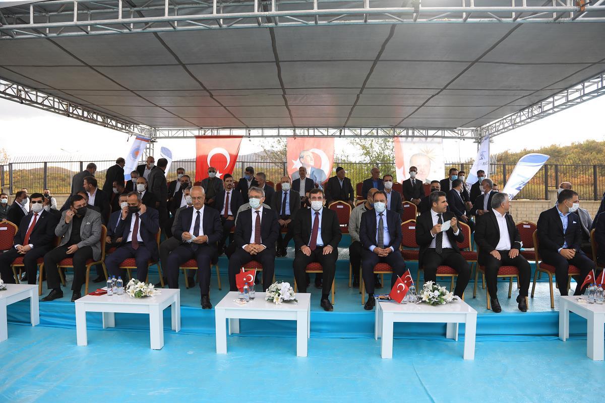 Cevdet Yılmaz, Bingöl'de düzenlenen temel atma törenine katıldı Açıklaması