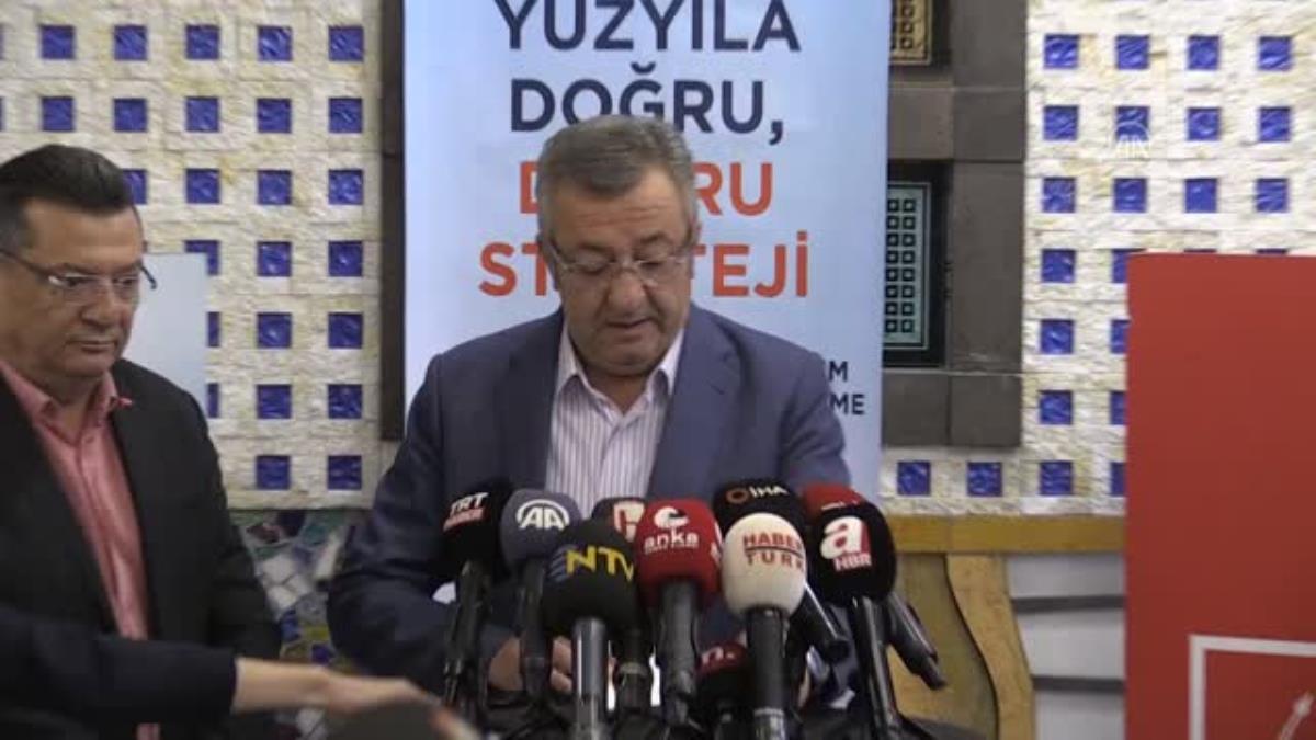 CHP Grup Başkanvekili Altay, partisinin Abant kampında konuştu Açıklaması