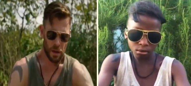 Chris Hemsworth'lı Netflix Filmi 'Extraction'ın Düşük Bütçeli Versiyonunu Çeken Gençlerden Mükemmel Egzersiz