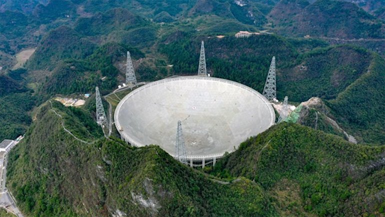 Çinliler, Ufo aramaya başlıyor