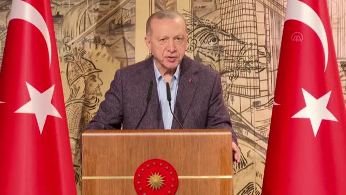 Cumhurbaşkanı Erdoğan, Uluslararası Demokratlar Birliği heyetini kabulünde konuştu Açıklaması