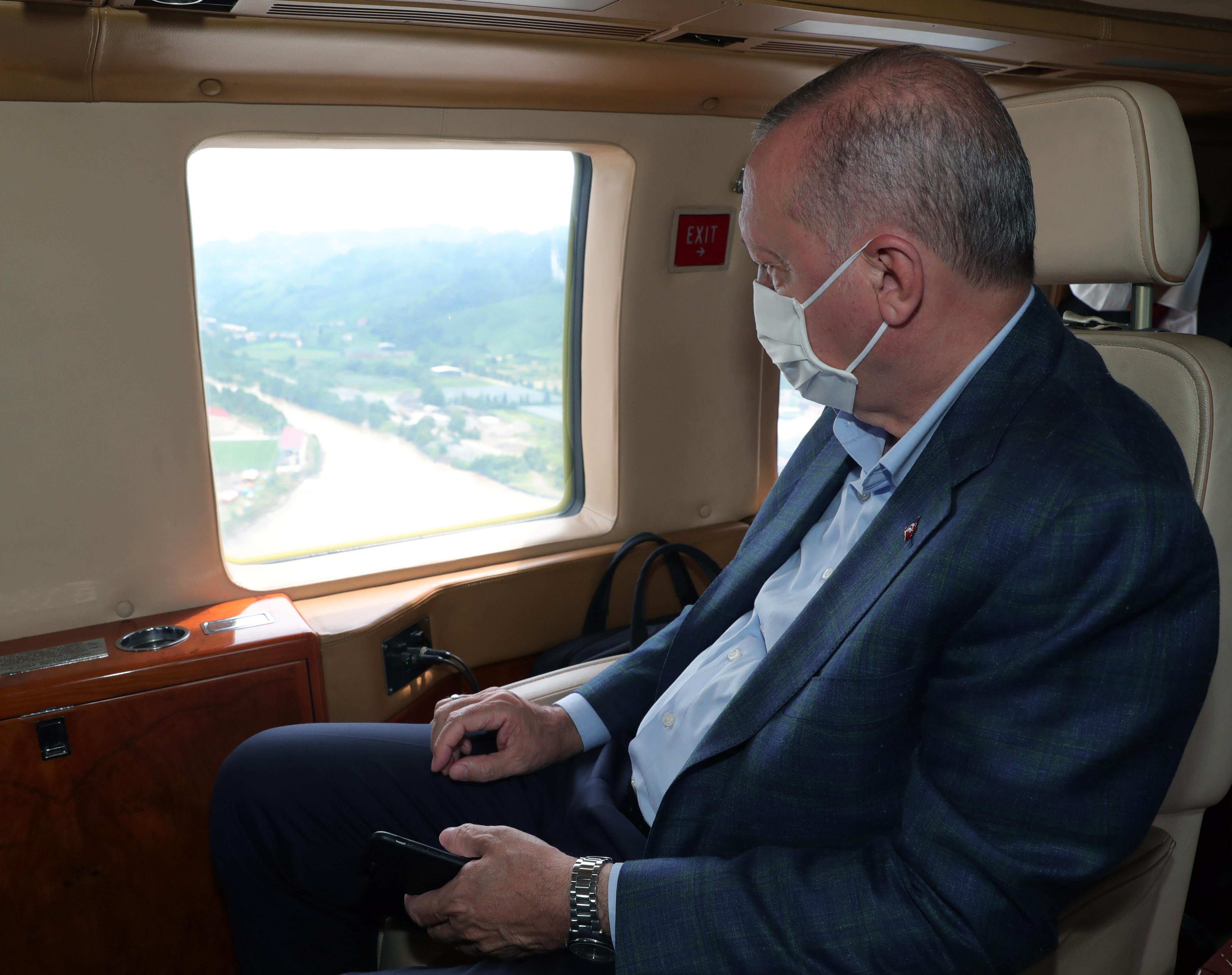 Cumhurbaşkanı Erdoğan: 'Yamaçlara 5-10 Katlı Binalar Yapmayın'