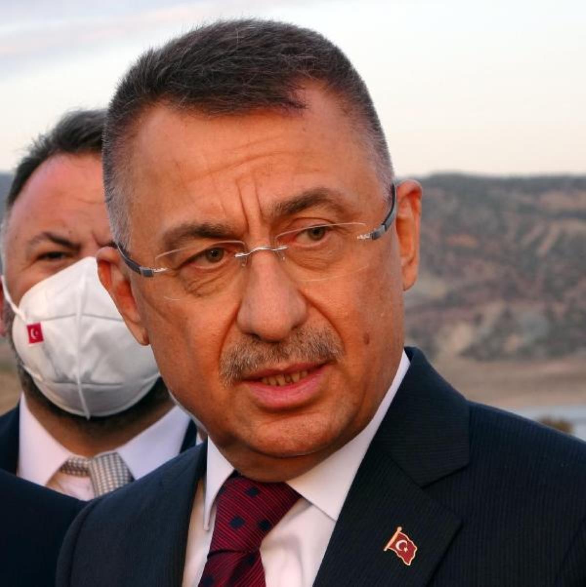 Cumhurbaşkanı Yardımcısı Oktay: Masada ve sahada olan bir Türkiye var