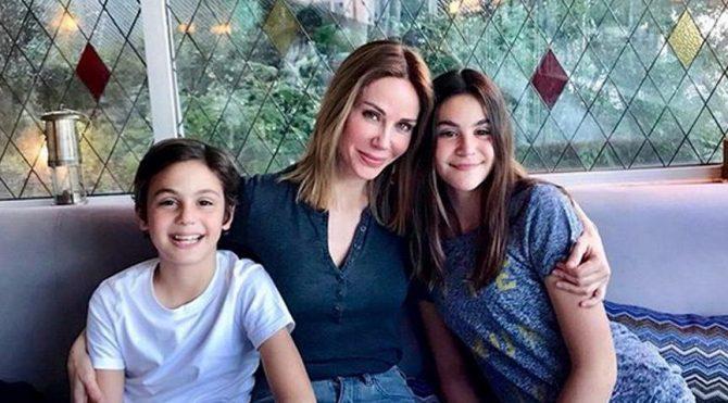 Demet Şener kızının doğum gününü kutladı