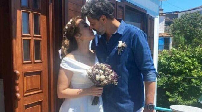 Deniz Uğur ile Erdinç Gülener evlendi