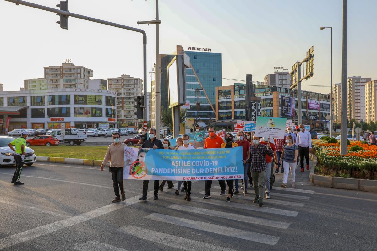 Diyarbakır'da Dünya Yürüyüş Günü etkinliği düzenlendi