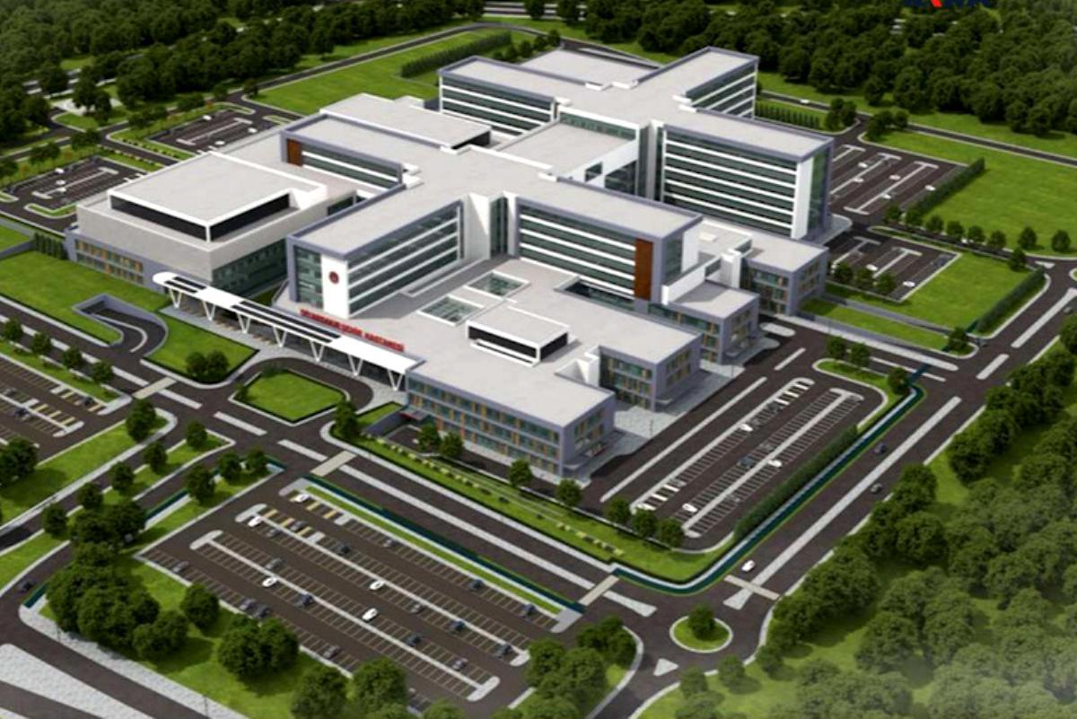 Diyarbakır'da yapılacak olan 1000 yatak kapasiteli Şehir Hastanesi, Diyarbakır'ı bölgenin