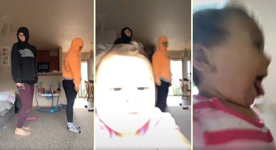 Dünyanın En Tatlı Hırsızı: TikTok İçin Dans Videosu Çekmek İsteyen Ablalarının Kamerasını Çalıp Şirinlik Patlaması Yaşayan Ufaklık