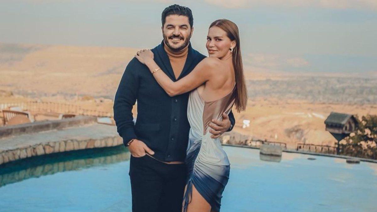 Ebru Şallı, Kapakdokya'da mini elbisesiyle poz verdi