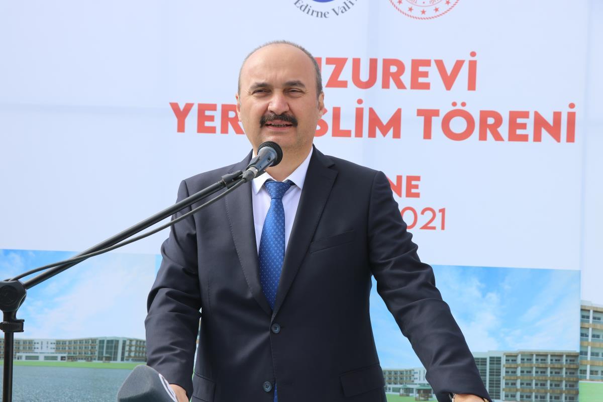 Edirne Valisi Canalp, Edirne nüfusunun Türkiye nüfusundan daha hızlı yaşlandığını belirtti Açıklaması