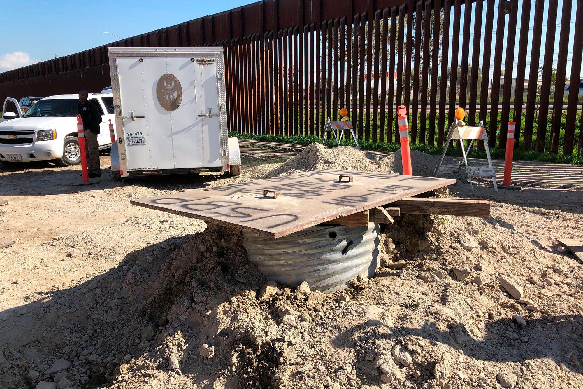 El Chapo, Ulusal Muhafız Üssünün Tam Karşısına Devasa Tünel Yaptırmış