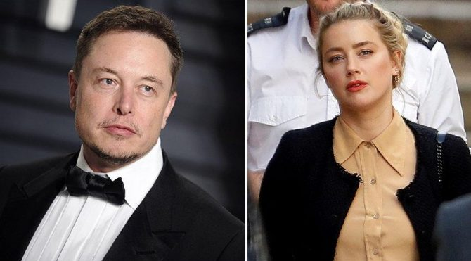 Elon Musk, Amber Heard'e 7 gün 24 saat koruma teklif etmiş