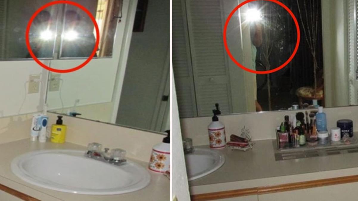 Emlakçı satılık evin banyosunda video çekti, aynada gördüğü adam nedeniyle dili tutuldu