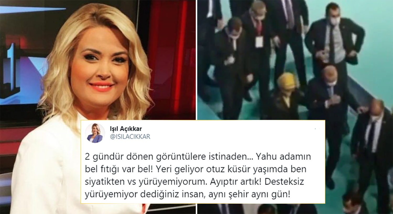 Erdoğan'ın Görüntülerine Yapılan Yorumlar TRT Spikerini Kızdırdı: 'Yahu Adamın Bel Fıtığı Var Be!'
